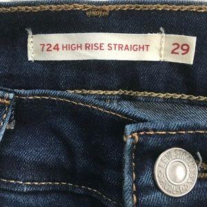Levi's women's 724 size 29
